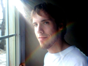 Me at a window, not photoshopped at all.